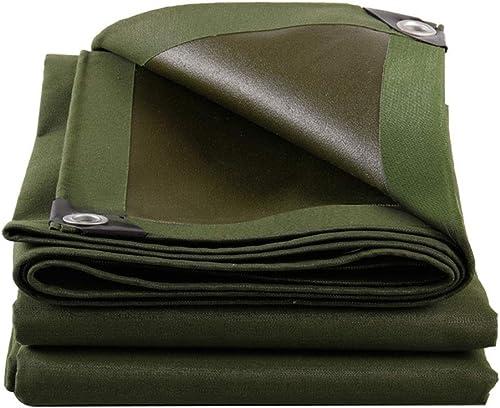 WHS Bache imperméable tissée résistante, couvertures de Feuille de Sol pour Camper jardinant 600g   (Taille   4x4m)