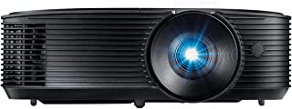 Optoma S334e SVGA Bright Professional Projector Lights On Viewing with 3,800 Lumens Latest DLP Technology Business Presentations Classrooms or Home 15,000 hour lamp life Speaker Built In Portable Size
