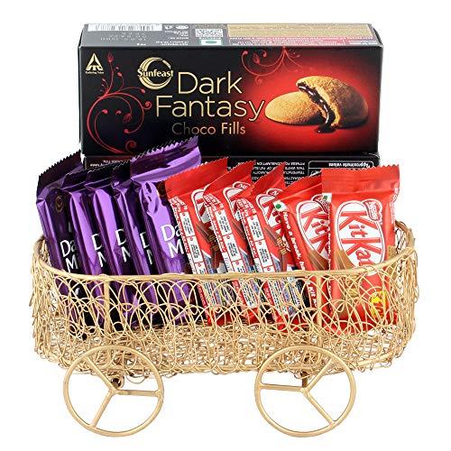 Astonished Retail Astonished Nestle Kitkat and Dairy Milk Gift Combo | Gift Combo for Birthday | Chocolate Gift Hamper for Diwali, Birthday, Holi, Rakhi, New Year, Christmas, Anniversary, 1