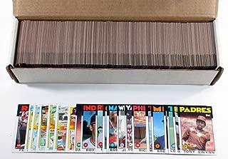 1986 Topps Baseball Complete Set (792) Ryan Clemens Rose