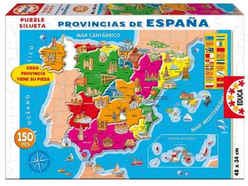 Educa Borrás - 150 Provincias España Puzzle 14870