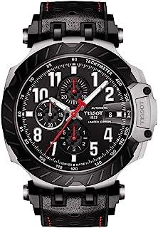 ساعة تيسوت للرجال موتوGP رياضية ستانلس ستيل اسود T1154272705700