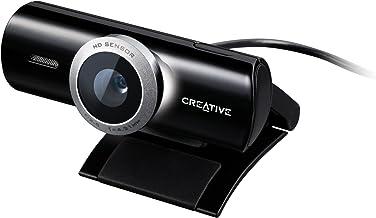 Creative Labs Live! CAM Socialize HD - Webcam (1280 x 720 Pixeles, USB 2.0, Negro, CMOS, Avatar Creator muveeNow 2.0, Clip/Stand)