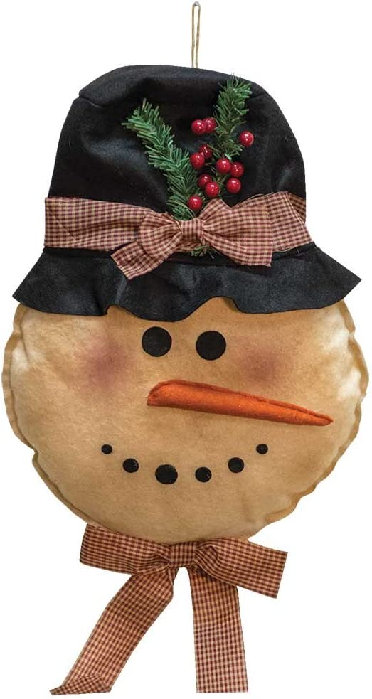 CWI Gifts Snowman Hanger Rare Door Multi Long Beach Mall