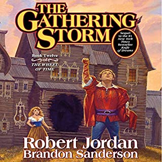 The Gathering Storm audiobook cover art