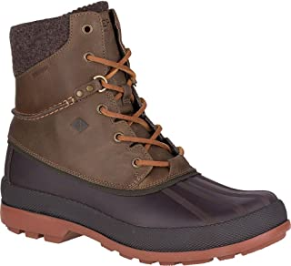 Sperry Top-Sider Cold Bay Vibram Arctic Grip Boot Men 7.5 Dark Brown