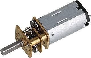 NO LOGO WJN-Motor 1PC DC 3V 6V 12V Micro Speed Gear Motor 15-500RPM Metal Gear Motor N20 Elektro-Untersetzungsgetriebe-Motor for Modell Getriebemotoren Farbe : 30, Gr/ö/ße : 6V