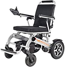 EXTR ANT Heavy Duty Electric Wheelchair, Foldable and 19.8Kg Lightweight Powered Wheelchair, 360° Joystick, Seat Width 45Cm,Support 150Kg,4 Shock Absorbers Motorized Wheelchair