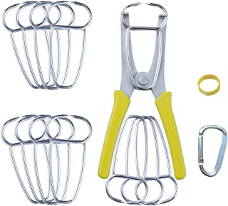 Woodworking Wood Trim New Dihui Tool 8 Pack Miter Spring Clamps for Picture Frames Moldings.