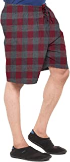 EASY 2 WEAR ® Men Checks Shorts (S to 4XL) - Elasticated and Drawstring