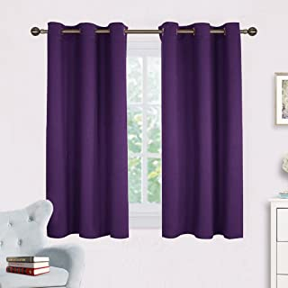 NICETOWN Blackout Curtain Panels for Kids Room, Triple...