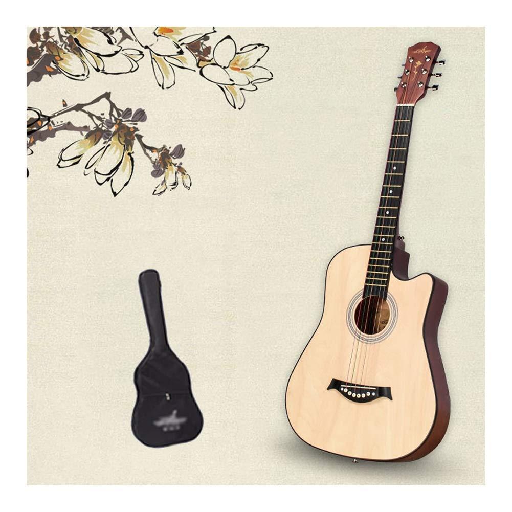 YJFENG-Guitarra Acústica Cuerda De Alambre Distancia De Cuerda ...