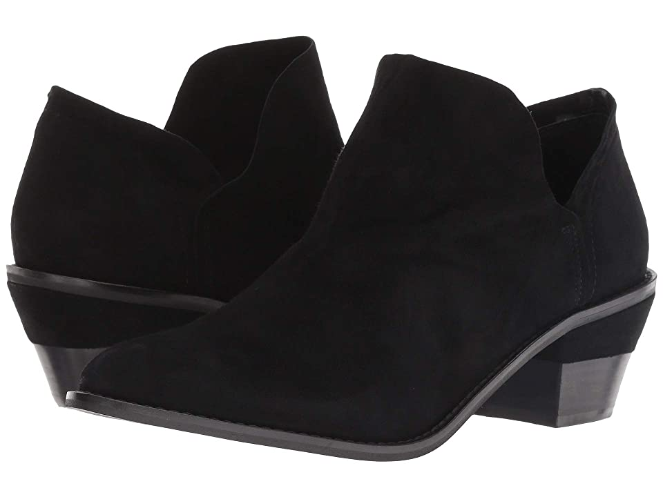 Kelsi Dagger Brooklyn Kenmare Ankle Boot (Black Suede) Women