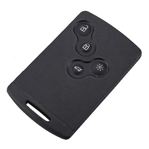 Smartcard tarjeta CLE Renault Megane Captur Laguna Scenic 4 botón carcasa Jongo @ pro-plip