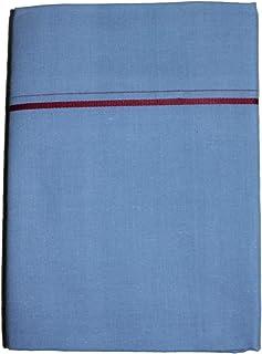 Prakasam Cotton Mens Single Colour Dhoti/Single mundu/1.30X2.00 Meter Single dhoti