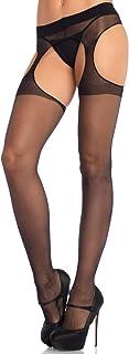 Leg Avenue Women's Sheer Garter Belt Panty