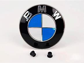Jaune emblème coins autocollant BMW e30 e36 e38 e39 e46 e60 e87 e90 f20 f30 f80
