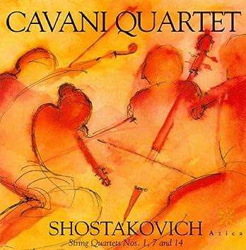 Shostakovich, D.: String Quartets - Nos. 1, 7 14
