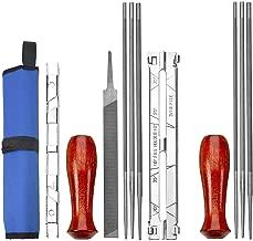 Uxradg catena a dente di sega grinding Tools guida trapano adattatore Mini trapano avvitatore Sega affilatura seghettata Tool set set di accessori