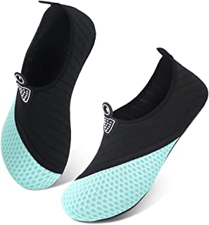 FEKOAFE Water Shoes Quick-Dry Barefoot Aqua Outdoor Beach Socks for Women Men