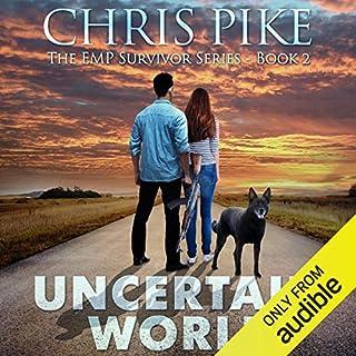 Uncertain World audiobook cover art