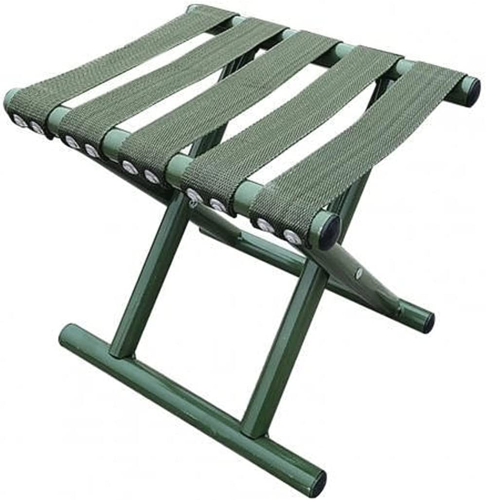 Wachqingazdy Folding Stool Army Green Limited time cheap sale Out Camping Chair 2021 model Fishing