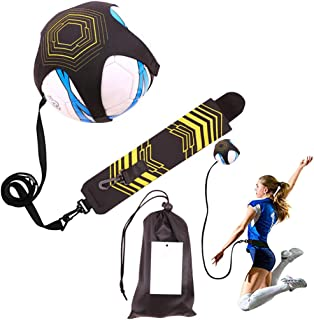 Football Kick Trainer, Volleyball Training Device with Adjustable Waist Strap, Great Solo Strike Perfect Volleyball/Footba...