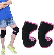 Atuka Rodilleras Voleibol Rodilleras Protectoras de Esponja Gruesa Antideslizante para Evitar colisiones Rodilleras Deportes Danza