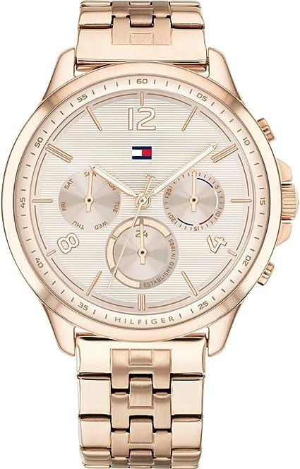 Tommy Hilfiger Harper - Reloj de Cuarzo para Mujer con Esfera múltiple