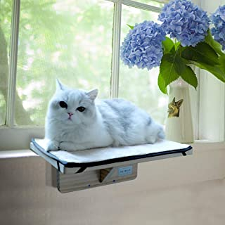 Petsfit Safety Sturdy Cat Window Perch,  Without Damage,  Not Fit All Windows