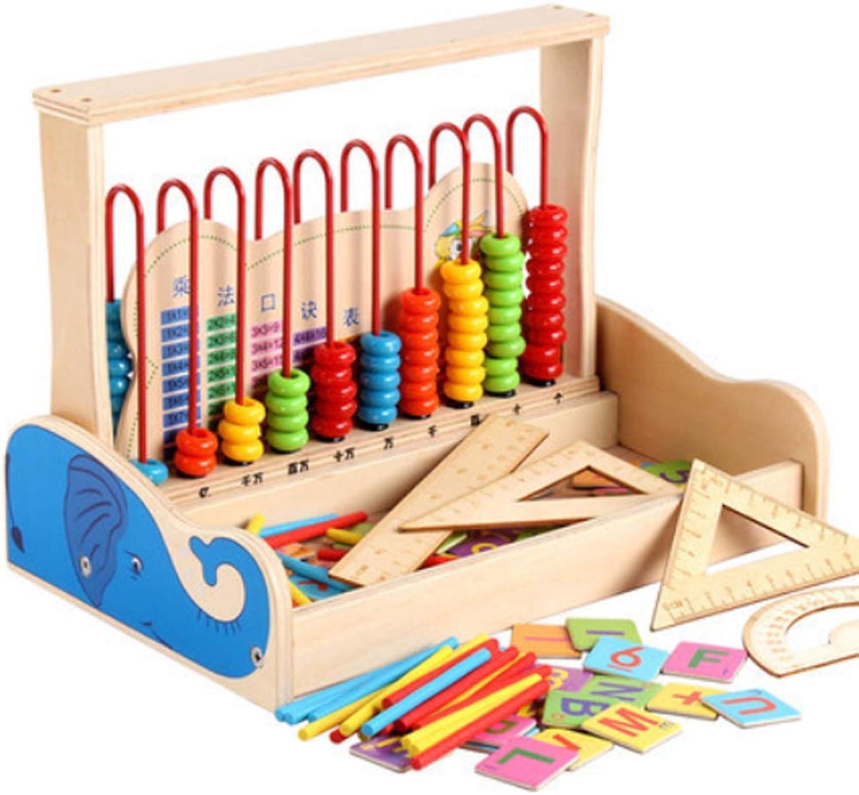 Rclhh Regenbogen-Abacus,Lernhilfe für die Grundschule Spielzeug Holz Abakus Kinder Frühe Mathematik Lernen Spielzeug Zahlen Zählen Berechnen Perlen Abakus Montessori Lernspielzeug B07PX9WFPT  Förderung | Louis, ausführlich