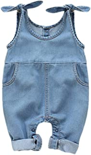 denim rompers for toddlers