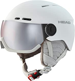 HEAD Dam QUEEN skidhjälm, vit, M/L