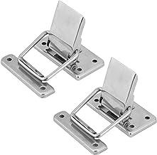 2 stks Roestvrijstalen Hardware Cabinet Case Veer Geladen Latch Vangst Toggle Hasp Toggle Klem Horizontale Klem