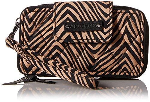 Vera Bradley Women's Signature Cotton Smartphone Wristlet for iPhone 6, Zebra