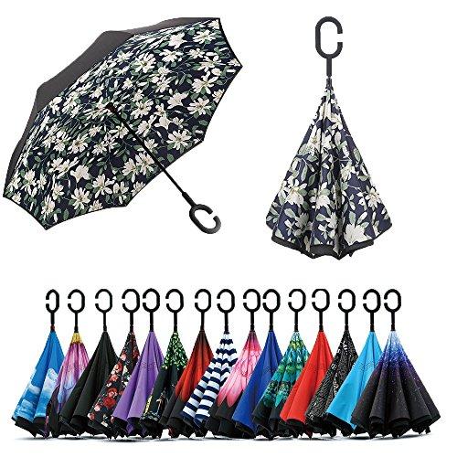 Paraguas Invertido de Doble Capa