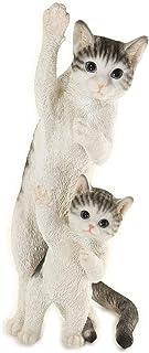 [ファンシー] ca121 (サバトラ) ネコ サバトラ 猫 置物 誕生日プレゼント ホワイトデーお返し女性 人気 彼女 母 父 プレゼント 人気 贈り物 インテリア ガーデニング ガーデンオーナメント 猫 好き な 人 へ の プレゼント 結...