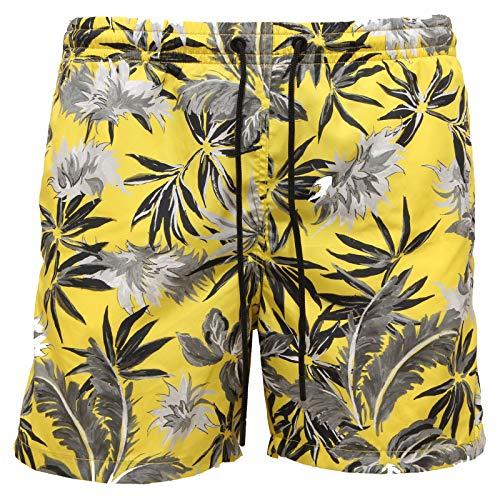 PAOLO PECORA 3944AA costume uomo short yellow beachwear man [XS]