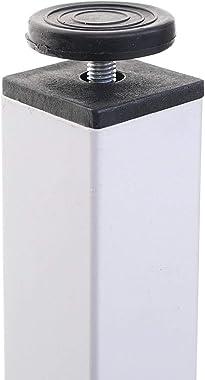 Mendler Bureau HWC-E94, Table d'ordinateur, Blanc 76x120x60cm