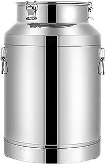 oven Bidon de Lait d'acier Inoxydable, Joint de Silicone de Seau de Stockage Liquide de Seau de Transport de Bidon de Stoc...