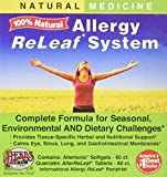 Allergy ReLeaf System - Natural Herbal Dietary Supplement - Safe and Effective Allergy Remedy - Promotes Sinus, Nasal, & Bronchial Health- Non Drowsy - 60 Softgels + 60 Tablets - Herbs Etc
