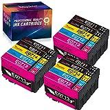 YINGCOLOR T0715 - Cartuchos de repuesto para Epson Stylus Office BX300F, SX400, SX200, SX100, SX218, SX215, BX610FW y SX205, SX209 10 SX1. 05