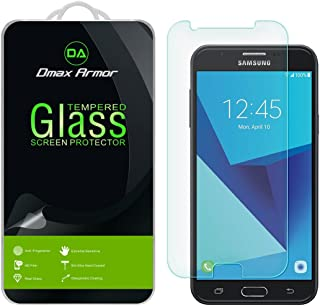 Dmax Armor [2-Pack] Dmax Armor for Samsung Galaxy J7 Sky Pro Screen Protector, [Tempered Glass] 0.3mm 9H Hardness, Anti-Sc...