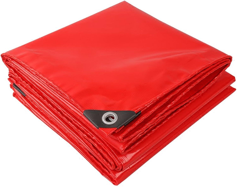 MZ Wasserdichte Plane PVC, Sonnenschutzplane-Blatt-Tätigkeiten im im im Freien, kampierendes Zelt u. Andere Gelegenheiten wenden Plane, Multi Größen an (Farbe   rot, größe   6mx7m) B07FR6TYF8  eine große Vielfalt c1be9c