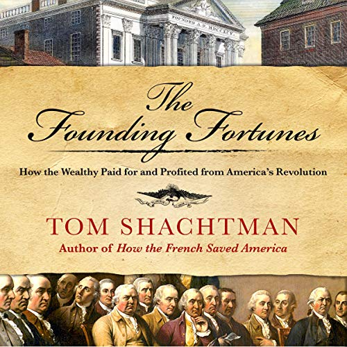 The Founding Fortunes audiobook cover art