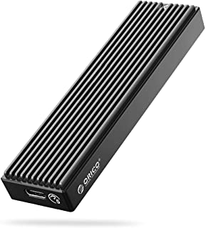 ORICO M.2 NGFF SSD Enclosure USB 3.1 Type C 5Gbps External Solid State Enclosure Adapter for 2280/2260/2242/2230 B Key/B+M...
