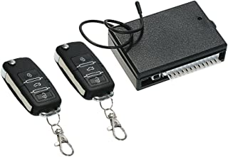 KKmoon Sistema de Alarma de Coche Cierre Centralizado de Bloqueo Sin Llave con Reguladores Alejados