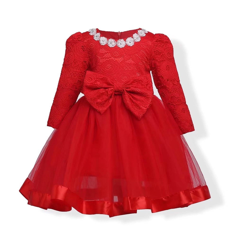 SZHS 子供服 ドレス ガールズワンピース フォーマルドレス キッズ 女の子 お嬢様 リボン付き 可愛い 発表会 結婚式 演奏会 パーティー E30