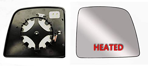 Brand New Passenger Right Side Replacement Mirror Glasses Big Housing With Heated And Plate Fit Ford Transit Connect XL,XLT and TITANIUM From 2014-onward