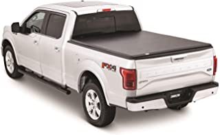5.5 Bed Truck Tonneau Covers for Ford F-150 2004-2019 Short Bed Hard Tri-Fold Soft Cover Clamp-On, Quick Clamp, Easy to Install (Shipped from US) (Black, 69in x 67in x 2in)